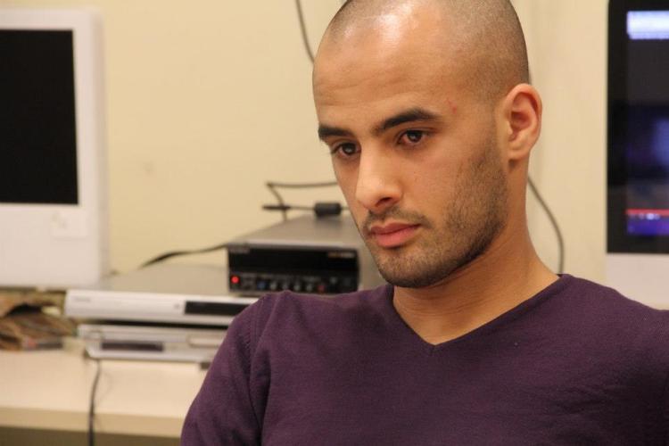 Karim Souanef, lors de sa visite à l'IFP / Photo : Sara Taleb