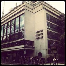 Siège de l'AFP, place de la Bourse à Paris / Guillaume Gendron